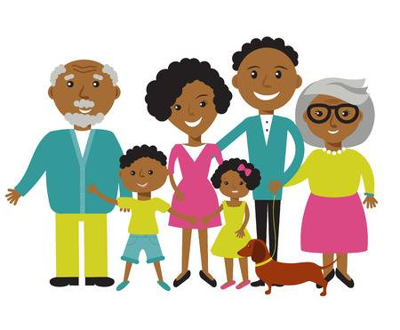 Grandparents clipart african american, Grandparents african.