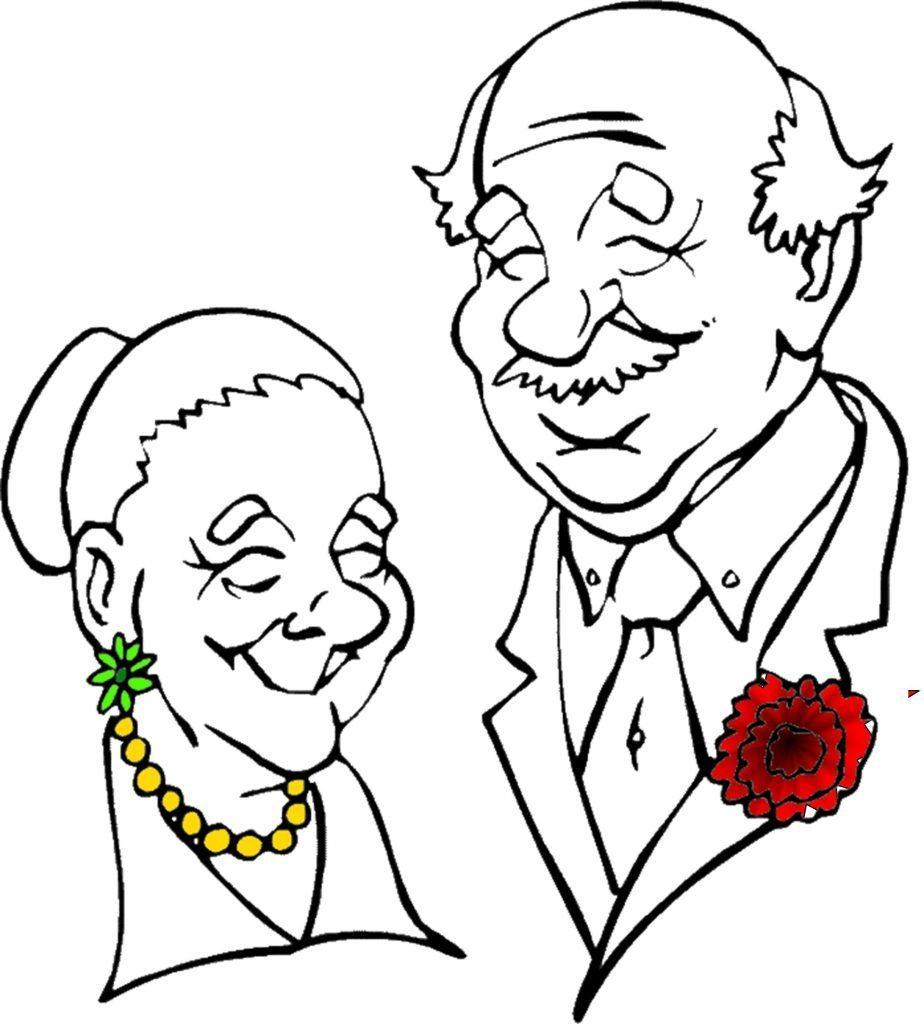 Grandparents Clipart.