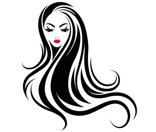 Best Black Hair Illustrations, Royalty.