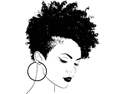 Amazon.com: Yetta Quiller Afro Woman Princess Queen Afro Hair.