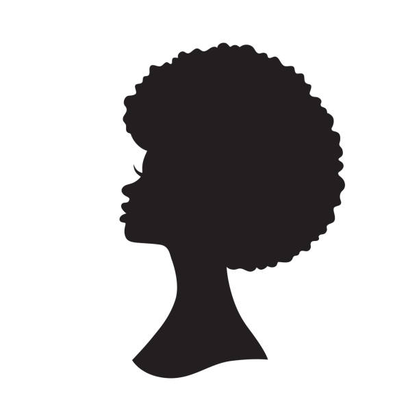 Best African American Hair Illustrations, Royalty.