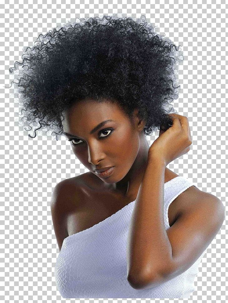 Hairstyle Afro.