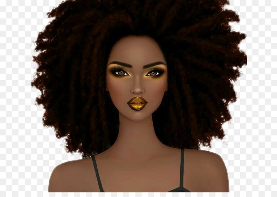 Hair Cartoon png download.