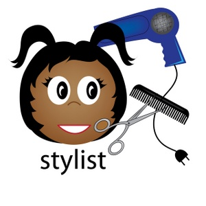 Free Hairstylist Clipart Image 0515.