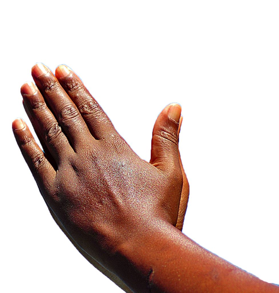 Praying Hands Prayer African American God.