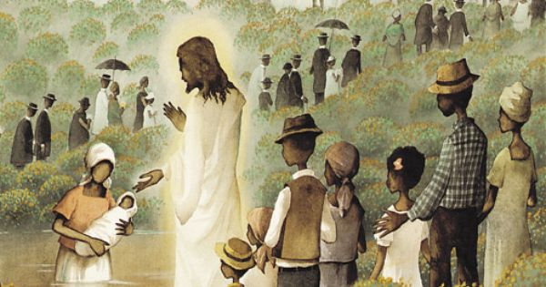 African American Jesus.