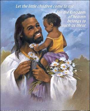 Black Jesus Art.