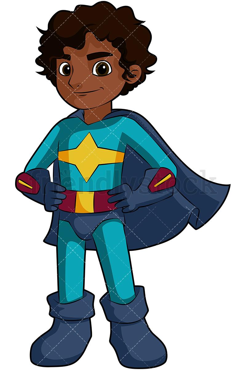 Black Boy Superhero Png & Free Black Boy Superhero.png.