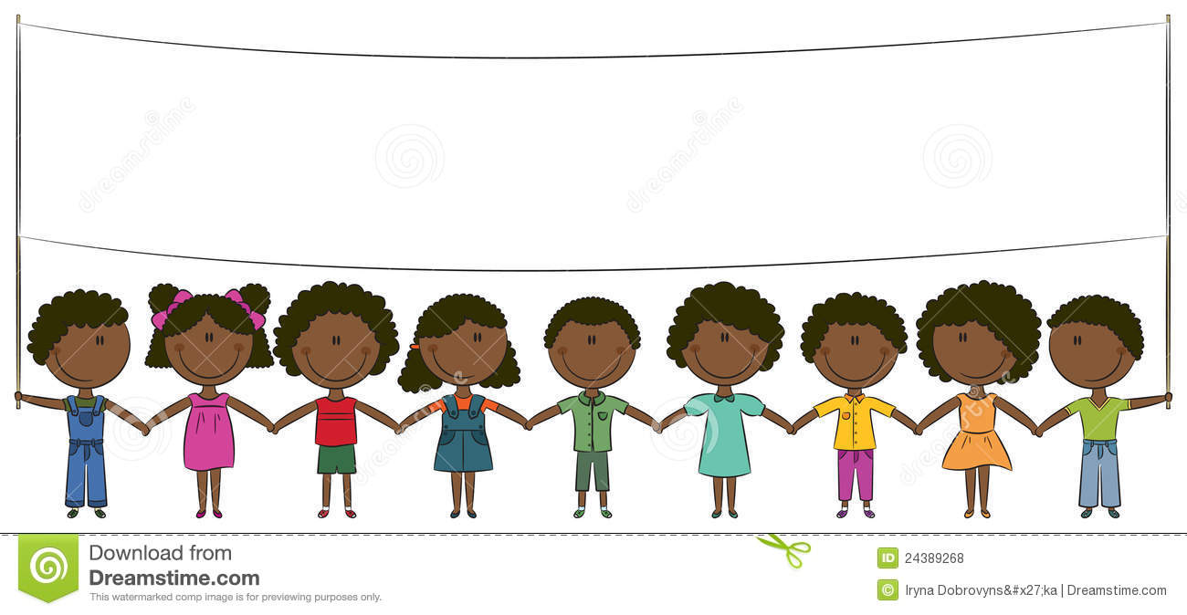 African American Youth Clipart.