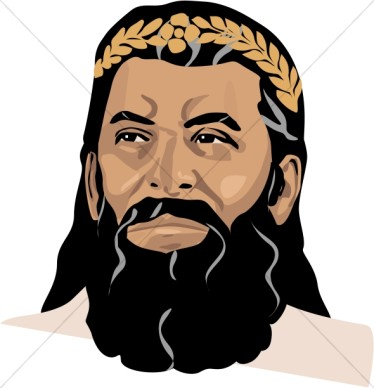 African King Clipart.
