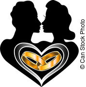 African American Love Clipart.