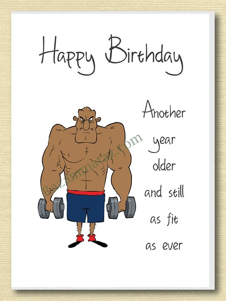 African American Male Birthday Card D.