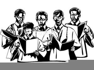Male Choirs Clipart.