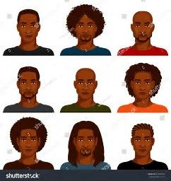 Image result for African American Male Clip Art.