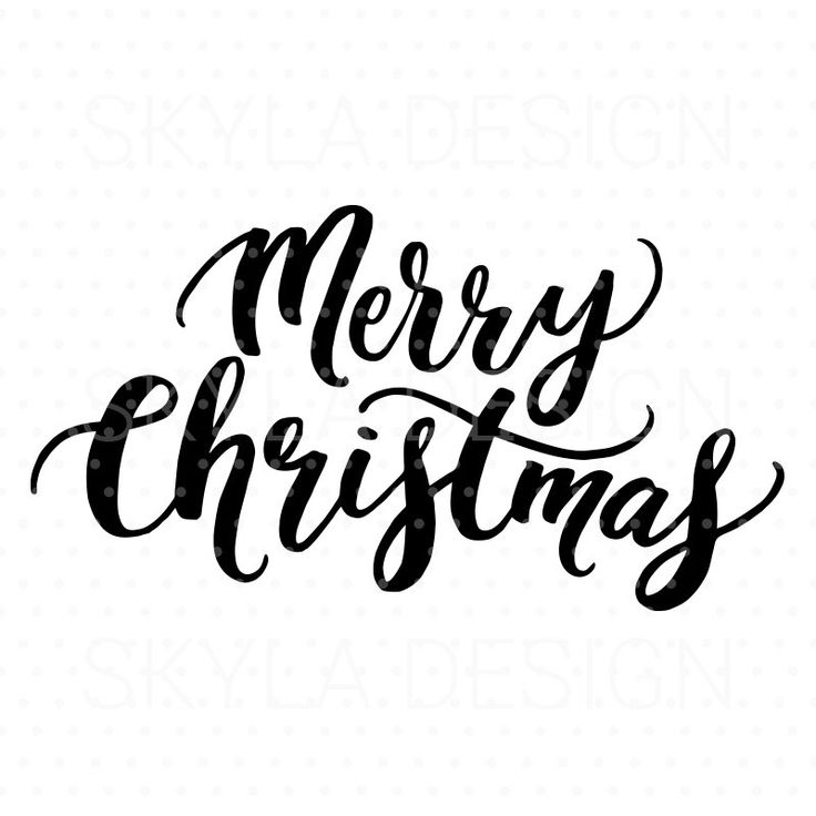 Merry christmas black and white merry ideas on christmas card.