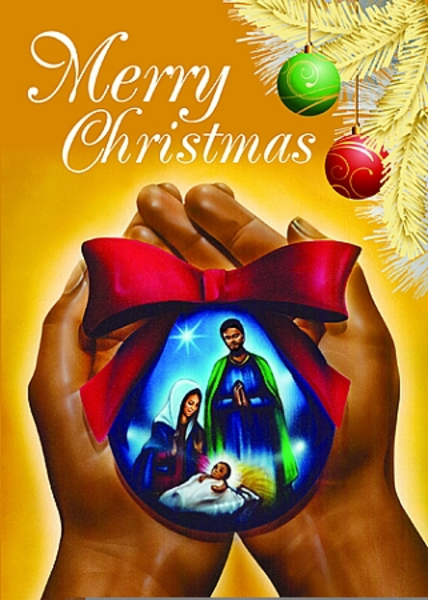Free African American Religious Christmas Clipart.