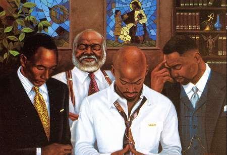 Real Men Pray.