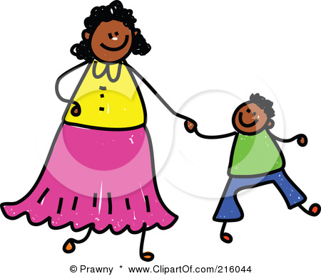 African American Mother S Day Clip Art.