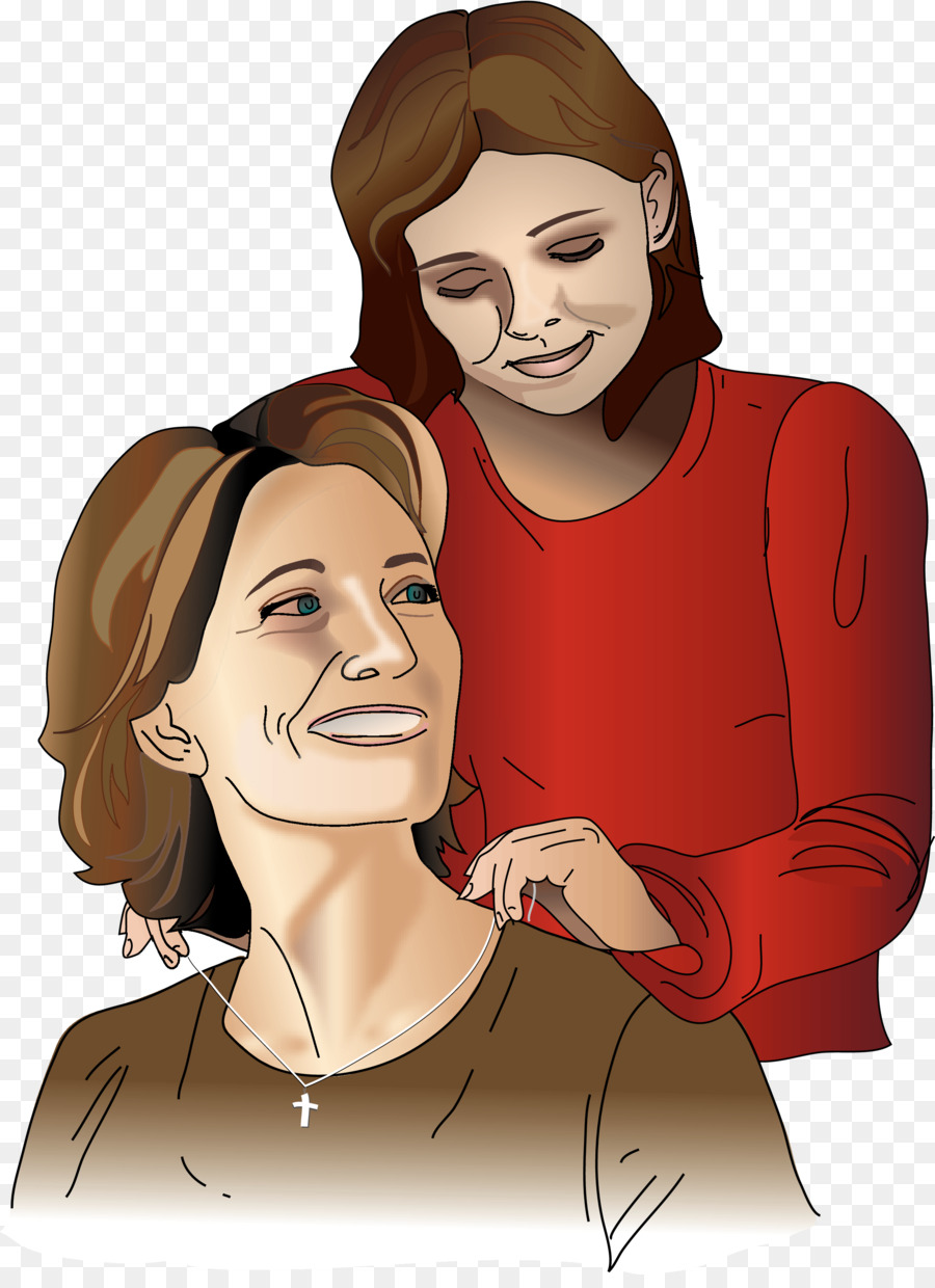 Mother Daughter African American Child Clip art.