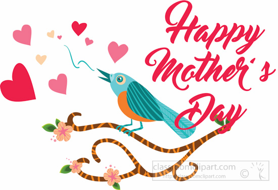 Mothers Day Clipart Black White.