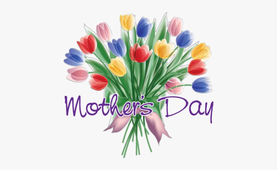 Clip Art Black And White Download Mothers Day Flowers.