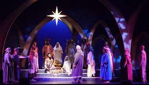 African American Nativity Scene Clipart.