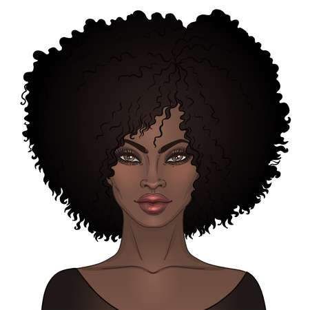 250 Natural Hair African American Cliparts, Stock Vector And Royalty.