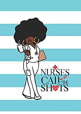Nurses Call the Shots: 150 Pages Journal Aqua Notebook Diary.
