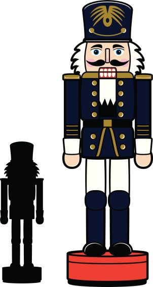 Image result for nutcracker clipart black and white.