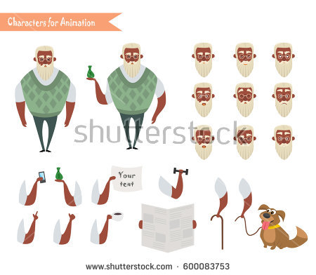 Indian Old Man Stock Vectors, Images & Vector Art.