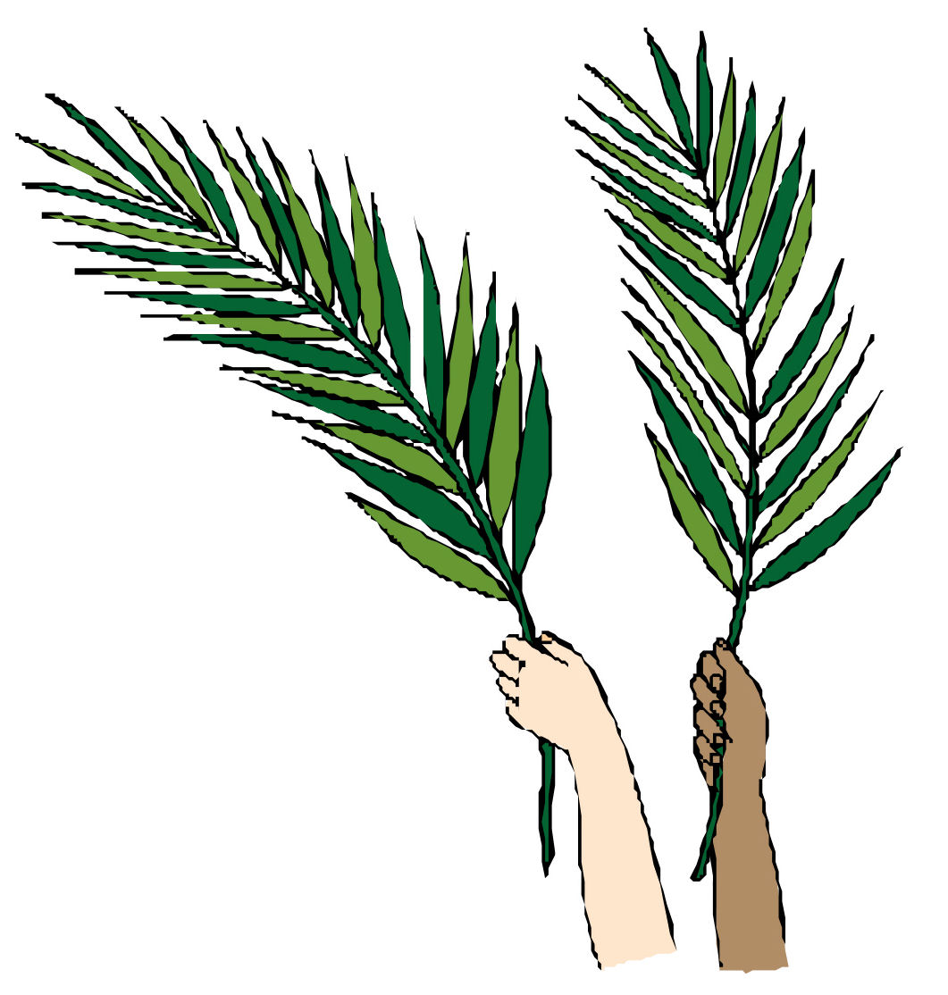 Free Palm Sunday Clipart.
