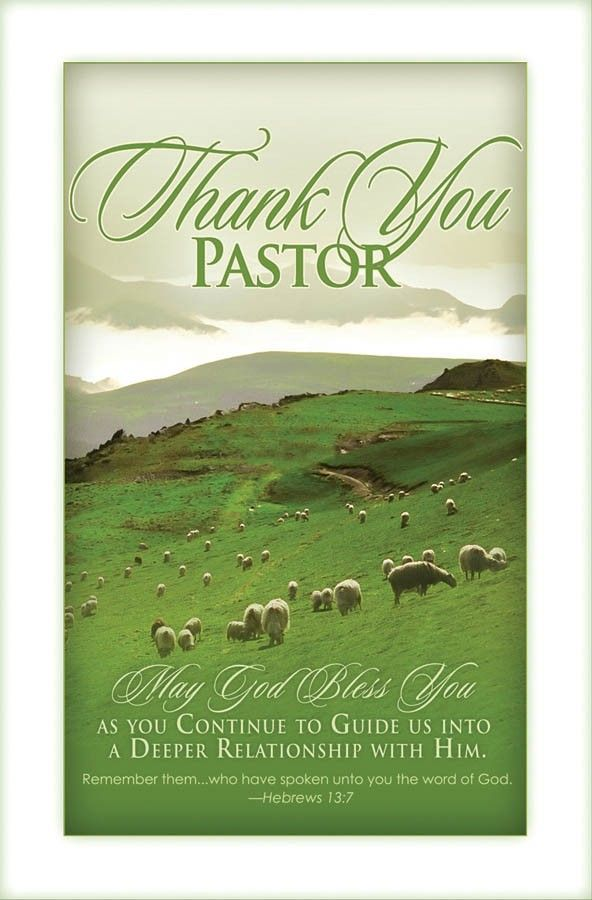 Pastor Anniversary Clipart Thank You Pastor Regular.