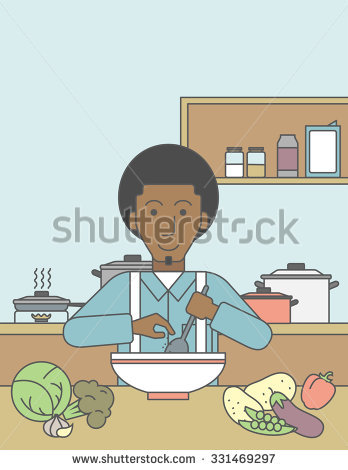 Showing post & media for African american cooking cartoon.