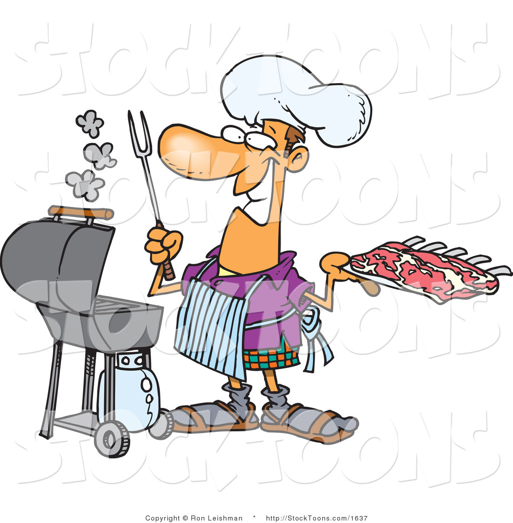 african american people grilling clipart transparent background #17