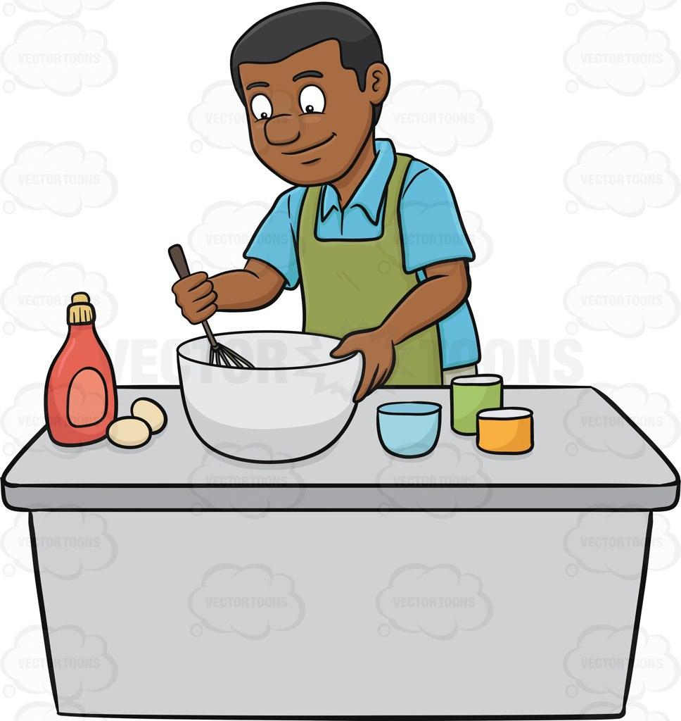 Showing post & media for Black man cooking cartoon.
