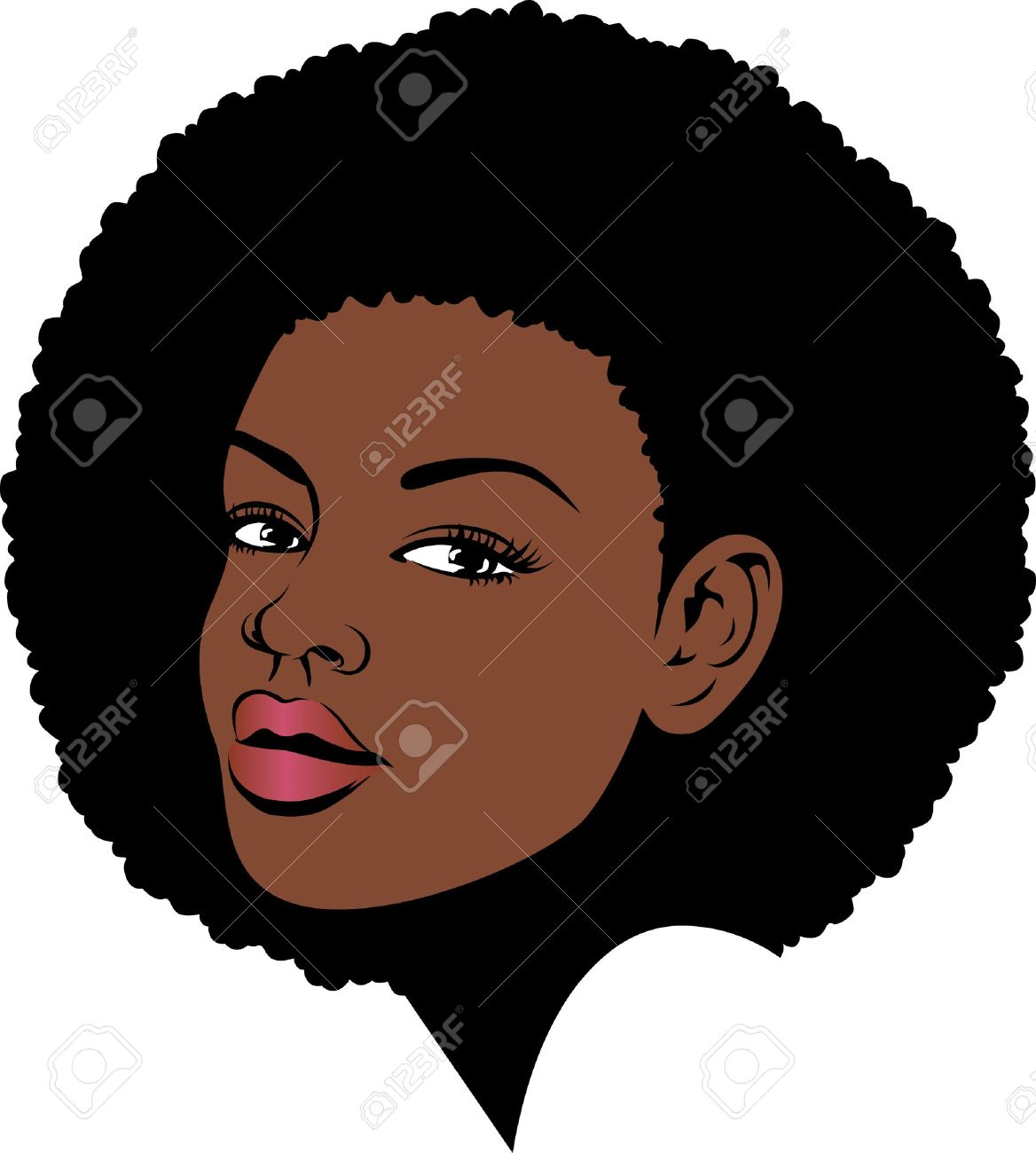 2,481 Afro American Cliparts, Stock Vector And Royalty Free Afro.