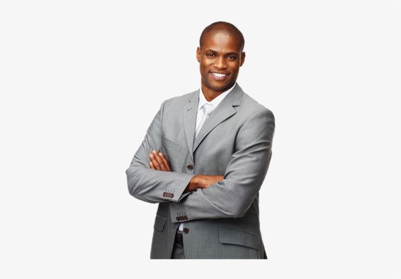 Black Businessman Png.