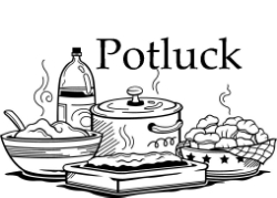 Potluck clipart black and white clipart images gallery for.