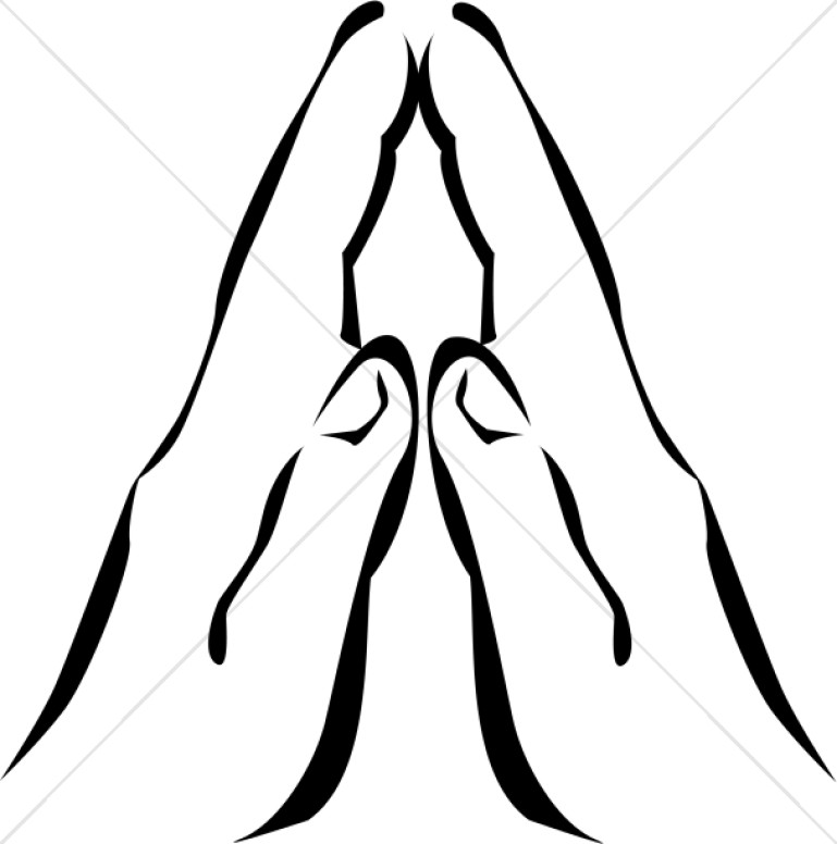 9 african american praying hands clipart.