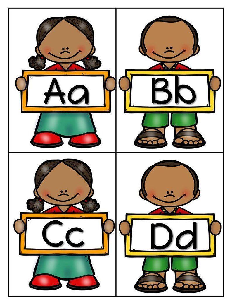 Alphabet/Letter Flashcards/African American Kids/Black Kids.