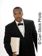 Stock Photography of Black Preacher.