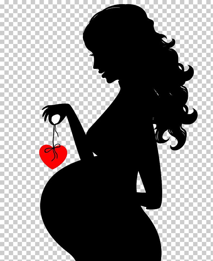 Woman Stock photography , Black pregnant women HD buckle.