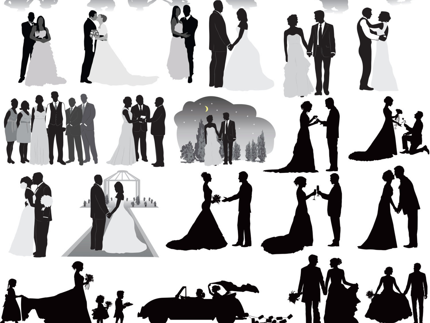 Free Girl Wedding Cliparts, Download Free Clip Art, Free.