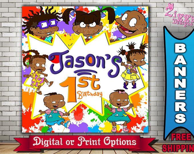African american Rugrats Clip Art Bundle.
