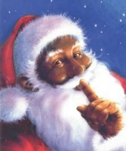 African American Santa is coming to town!.