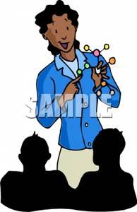 An African American Science Teacher.