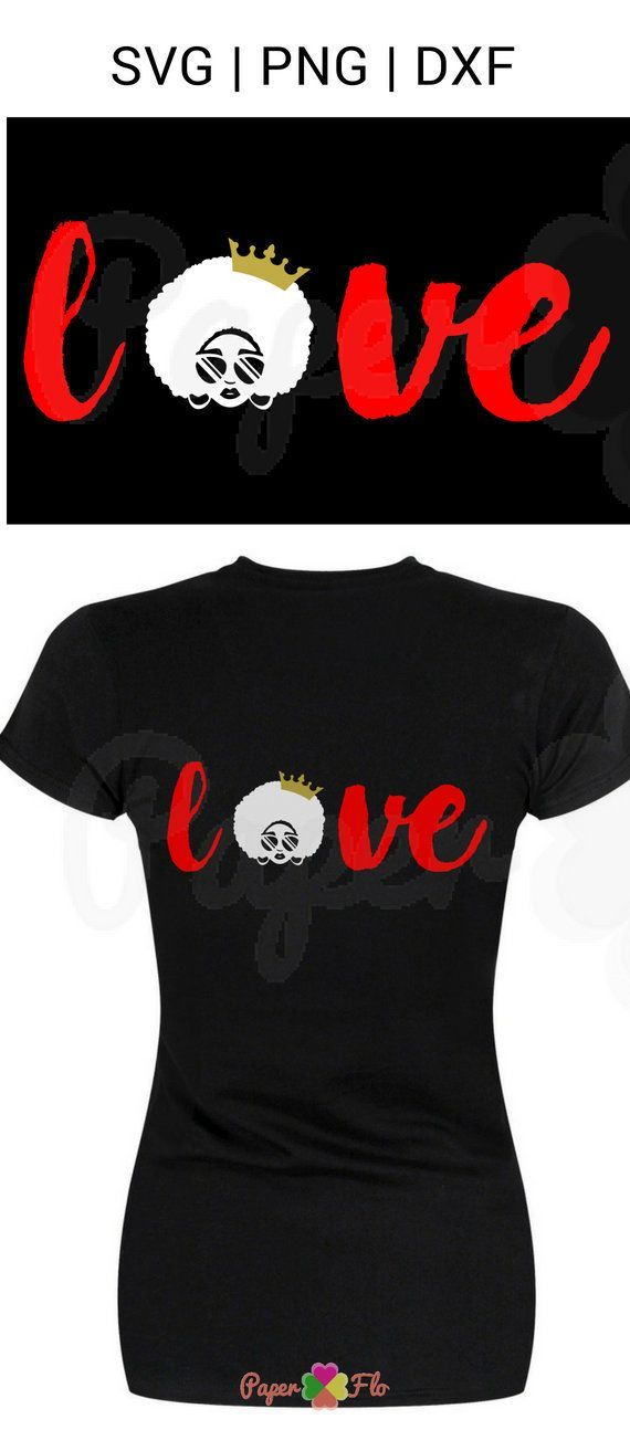 love afro SVG sunglasses clip art black woman svg files.