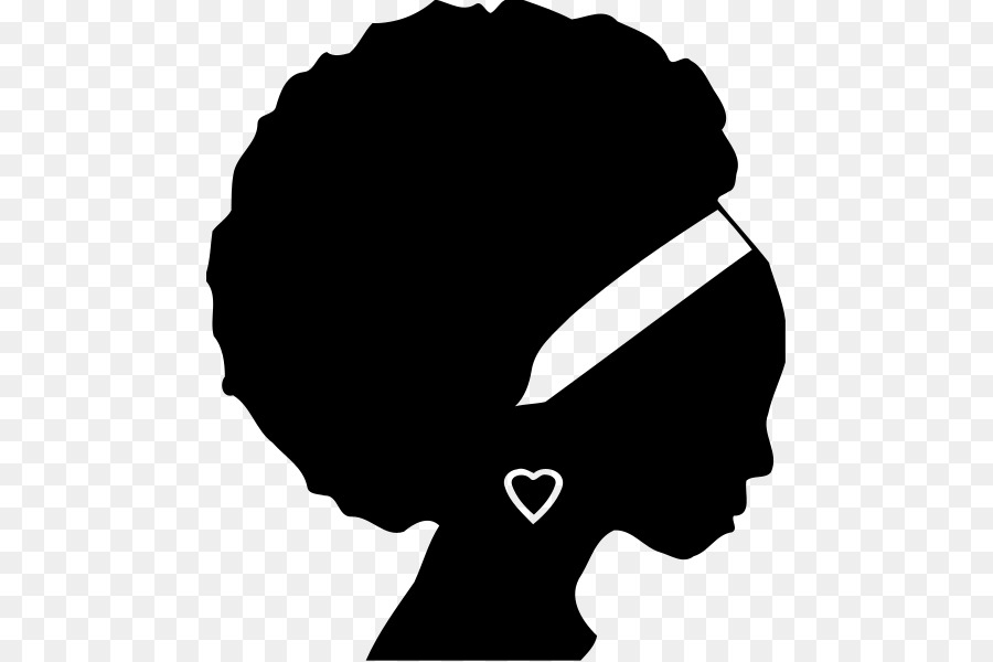 African American Silhouette Black Clip art.