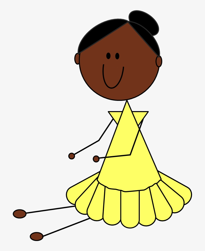 African American Sisters Clip Art Transparent PNG.