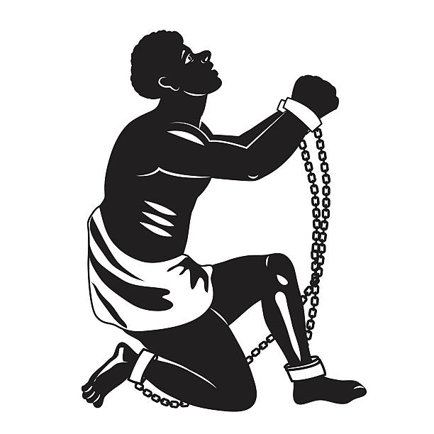 100 Slave free clipart.